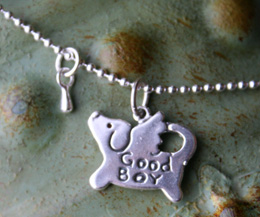 angel dog memorial necklace for dog loss