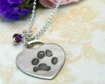 Custom Pet Memorial Jewelry