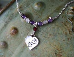 furbaby memorial necklace