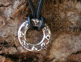 pawprints hearts pet memorial jewelry