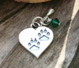 pawprints pet memorial jewelry