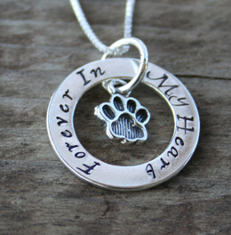 cat affirmation necklace
